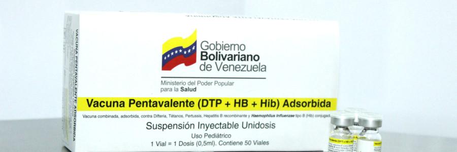 Vacuna Pentavalente (DPT+ HB+ Hib) Adsorbida