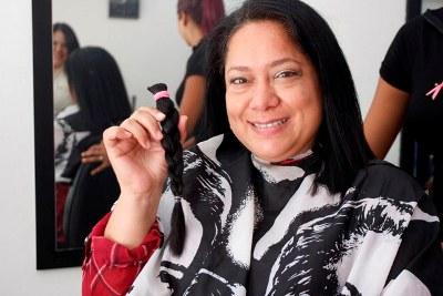 ARAGUA: Más de 150 personas donaron cabello para las mujeres con cáncer de mama