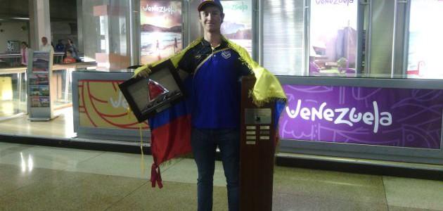 David González se prepara para llevar la vela venezolana a las olimpíadas de Tokio 2020