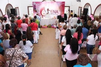 ARAGUA: Isena promueve prevención del Cáncer de mama