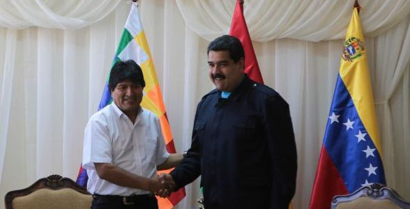 Venezuela y Bolivia acuerdan dar un nuevo impulso a la cooperación energética y comercial