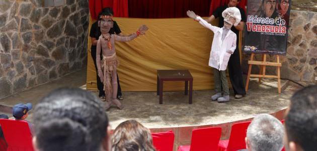 100 funciones escénicas llevará el Festival de Teatro y Títeres a comunidades de 17 parroquias caraqueñas