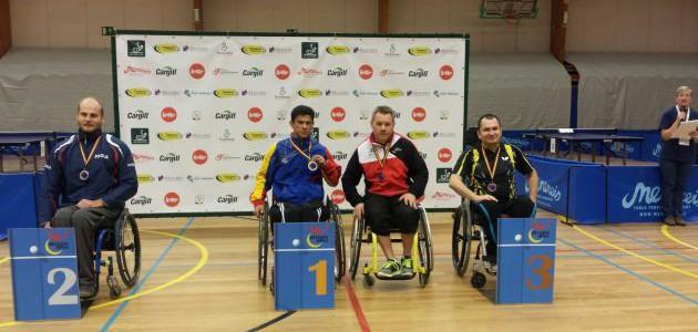 Tenimesista criollo Edson Gómez ganó medalla de oro en abierto de Bélgica 2015