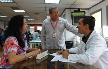Banco Municipal de Sangre realizó jornada en la Tesorería de Seguridad Social