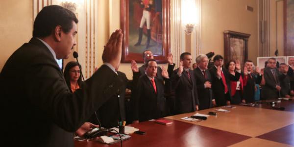 Oficializado en Gaceta Oficial Nº 40.822 nuevo tren ejecutivo