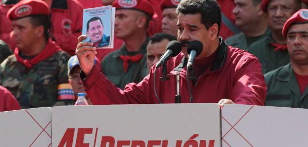 Presidente Maduro llama a mantenerse en rebelión permanente con el proyecto de Chávez