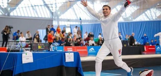 Rubén Limardo clasificó a los Juegos Olímpicos Río 2016