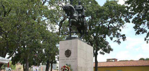 Cumaná conmemora 221 aniversario del natalicio del Gran Mariscal de Ayacucho