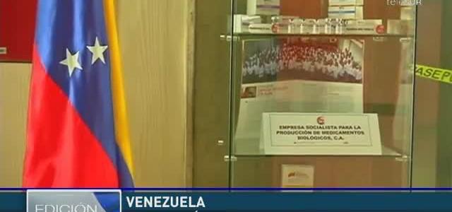 Venezuela impulsa industria farmacéutica nacional