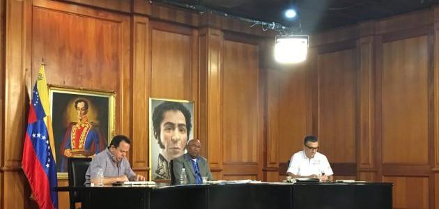 Vicepresidente Ejecutivo dirige reunión del Consejo Nacional de Economía en Miraflores
