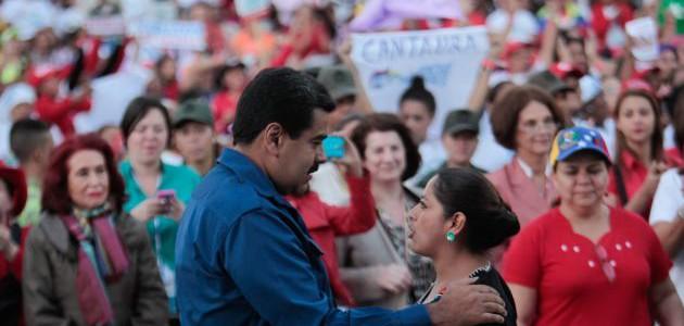 Maduro: En la Venezuela revolucionaria la mujer es protagonista como nunca antes