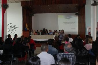 Ministra de Salud efectuó asamblea con trabajadores para discutir líneas estratégicas