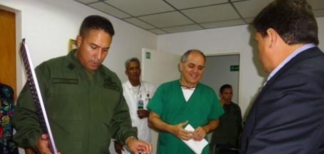 Hospital Militar Dr. Carlos Arvelo recibe insumos para intervenciones neurológicas