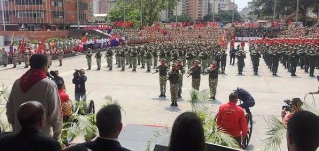 Maduro exhortó a la Milicia Bolivariana a ser garantes de la continuidad pacífica del país