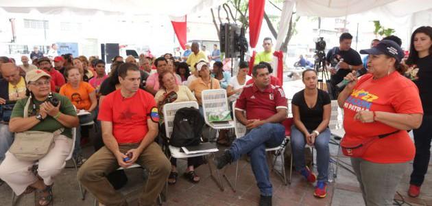 Pueblo organizado participa en asambleas populares de salud