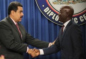 Venezuela y Trinidad y Tobago firmaron acuerdos en materia energética y comercial