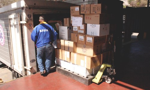 Venezuela envió material médico-quirúrgico a Ecuador