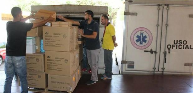 Ministerio para la Salud despachó insumos médicos al Hospital Luis Razetti del Distrito Capital