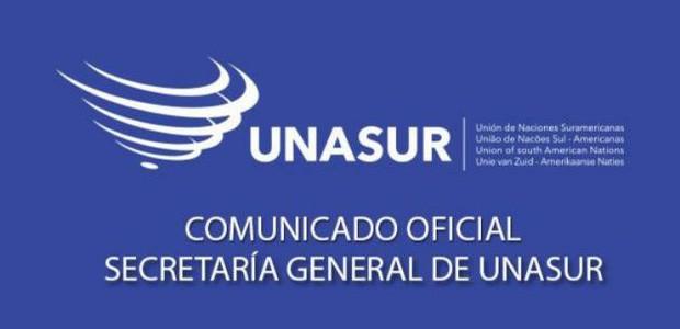 Secretaría General de UNASUR renueva su apuesta por el diálogo, la convivencia y paz en Venezuela