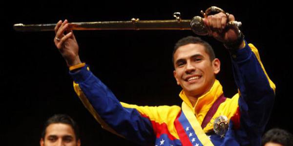 Rubén Limardo elegido como el abanderado nacional para Río 2016
