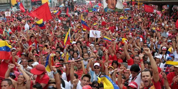 Movimientos de misiones sociales marchan en Venezuela en rechazo al intervencionismo