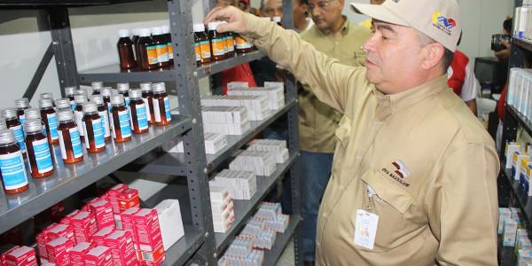 Gobierno Bolivariano entregó más de 230 mil medicamentos al Hospital de Bauxilum