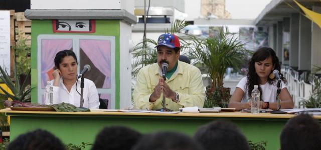 Maduro: Sigamos perseverando en el trabajo y la creación