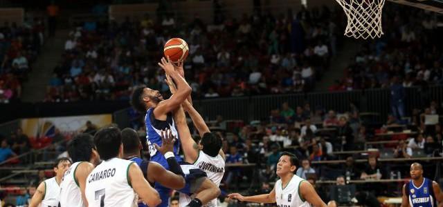Con tres victorias Venezuela asume liderato del Grupo A del Suramericano de Baloncesto 2016