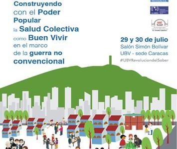 El II Congreso REDSACOL-ALAMES debatirá Sobre Salud Colectiva, Buen Vivir y Poder Popular