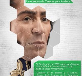 Simón Bolívar: Un obsequio de Caracas para América
