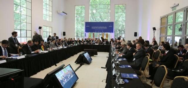 Cancilleres del Mercosur abordarán traspaso de presidencia pro témpore el próximo 30 de julio