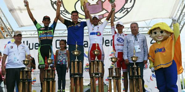 Yonathan Monsalve, campeón de la Vuelta a Venezuela