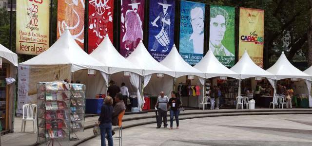 Con Feria del Libro arranca celebración de 449 años de Caracas