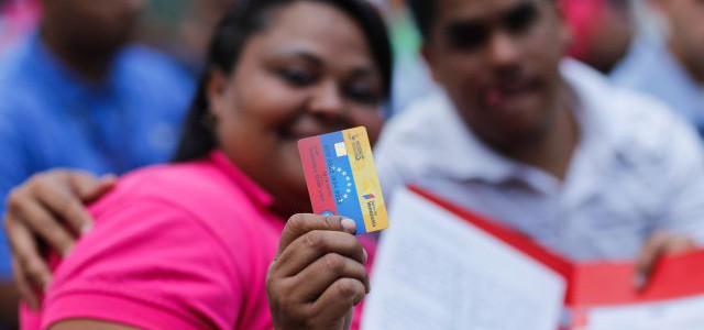 Monto de la tarjeta Hogares de la Patria aumentó a Bs 30.000 mensuales