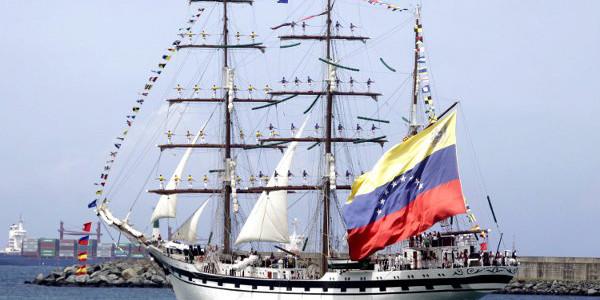 """Buque escuela Simón Bolívar obtuvo oro como el velero más rápido en la """"Tall Ships Races"""""""