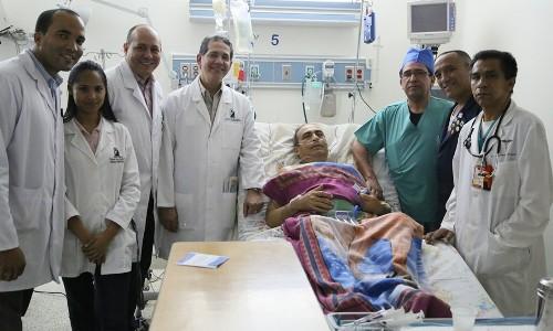 Recuperación satisfactoria a 24 horas de cirugía cardiovascular