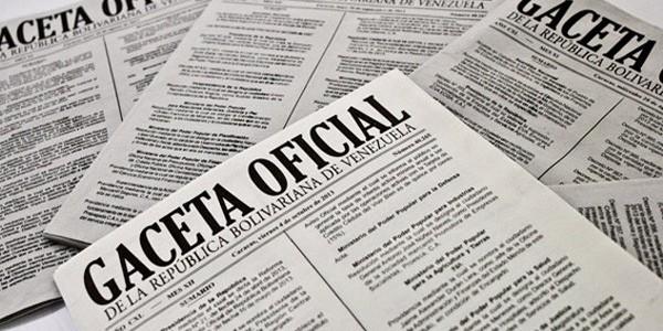 Publicado en Gaceta Oficial el ajuste de remuneraciones de trabajadores públicos