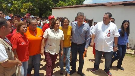 Ministra de Salud inauguró Base de Misiones La Pastora en Machiques en compañía del ejecutivo regional