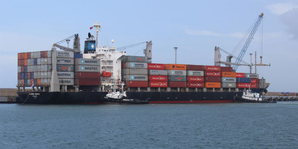 Arribaron 211 contenedores con medicina, alimentos y artículos de higiene al Puerto de La Guaira