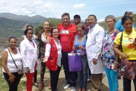 Min-Salud visitó el ASIC El Limón en la carretera Caracas-La Guaira