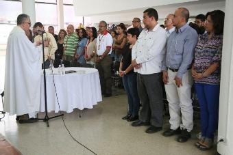 MinSalud celebra eucaristía por la paz de Venezuela