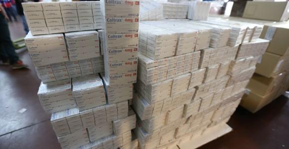 350 millones de unidades de medicamentos distribuidos en hospitales y ambulatorios