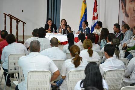 Ministra de salud evaluó avances de cobertura 100 % de atención en Barinas