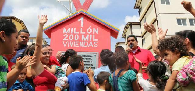 Venezuela logró construir un millón 200 mil viviendas en cinco años