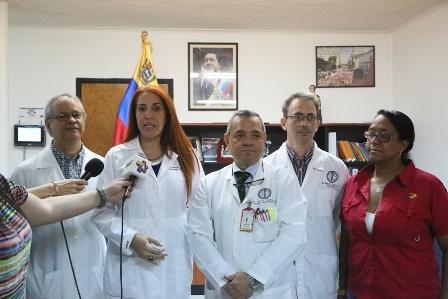 Min-Salud entregó 91 marcapasos al Hospital Universitario de Caracas