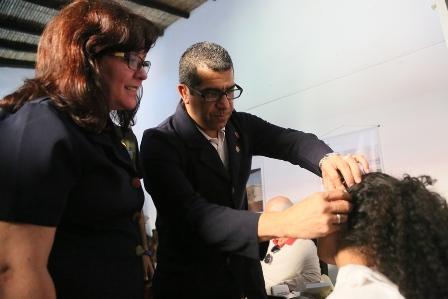 371 prótesis auditivas entregadas de manera gratuita en la Parroquia San Juan