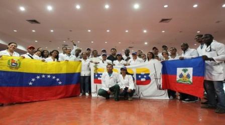 Más de 6 mil pacientes atendidos por médicos venezolanos en Haití