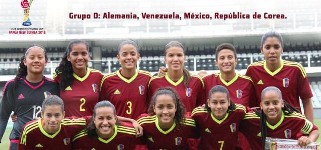 Venezuela debuta el lunes contra Alemania en Mundial Femenino Sub 20 de Fútbol