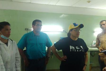Ministra de Salud supervisó la red ambulatoria y hospitalaria de Amazonas