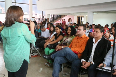 Poder Popular participa activamente en el Congreso de la Patria- capítulo Salud